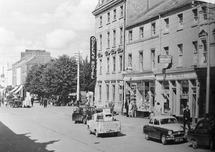 The Queen's Hotel building in its glory days