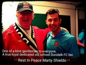 Marty Shields (left) RIP