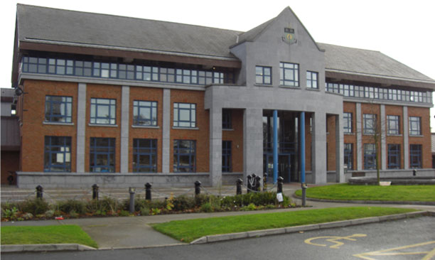 The offices of Louth County Council
