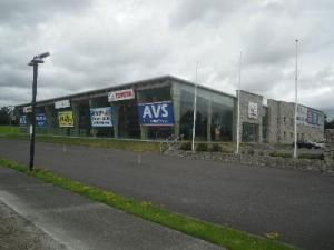 The old McCabe's garage in Ardee which Maxol hope to move into