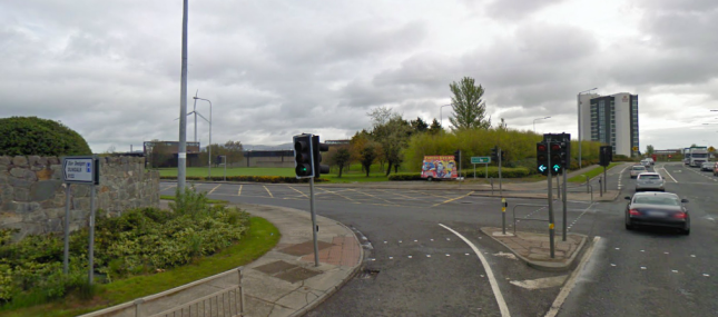 The Xerox junction in Dundalk
