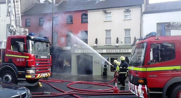 The fire at the Cycle Shop three days before Christmas in 2013