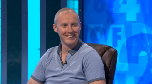 Ciarán all smiles on yesterday's show