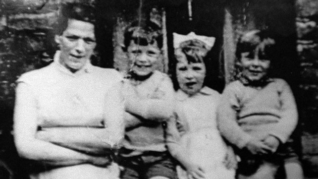 Jean McConville, pictured with three of her children prior to her abduction in 1972.