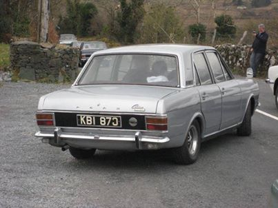 An old Cortina which would be expected to feature at the Spring Run event in the Carrickdale next month