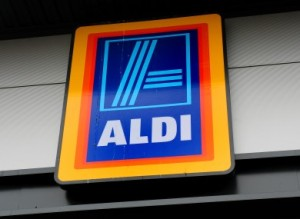A thief almost escaped with an elderly woman's bag in Aldi on the Newry Road earlier today