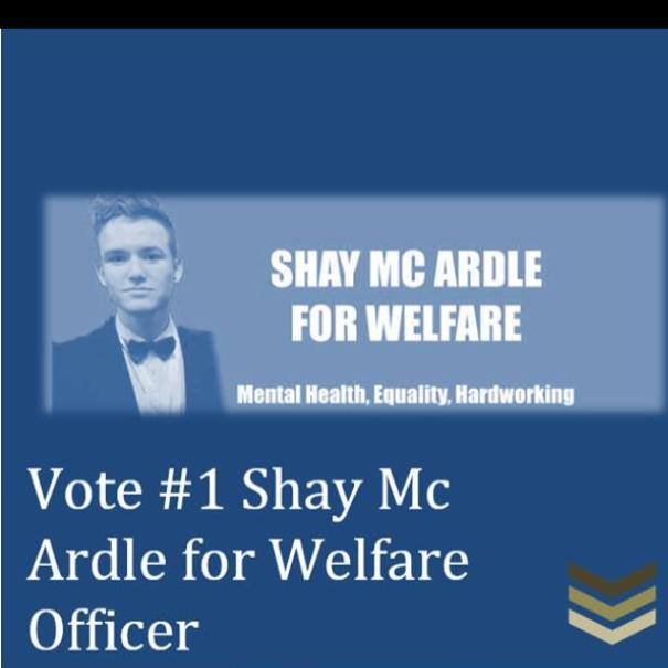 Shay McArdle's election poster