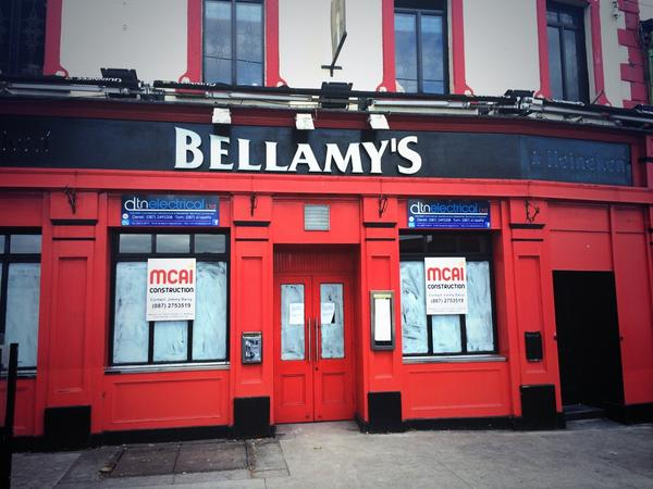 Work is underway at Bellamy's at present to get it ready for its opening