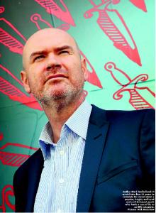 Author Mark Mulholland