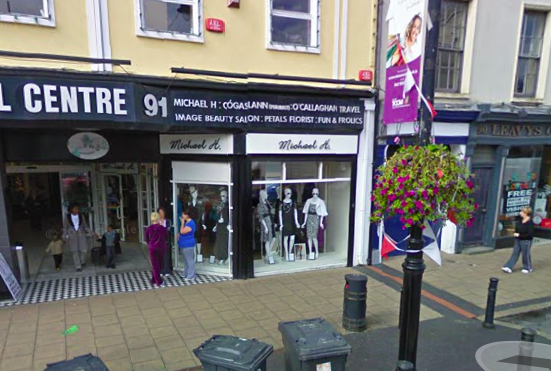 Michael H boutique enjoyed a popular location fronting onto Clanbrassil Street