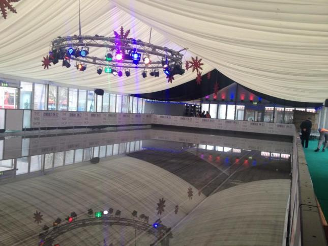 Dundalk On Ice will open to the public from today