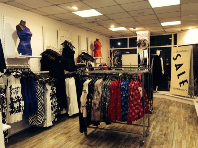 Inside the new Heaven Boutique pop up shop at the Clanbrassil Centre on Clanbrassil Street