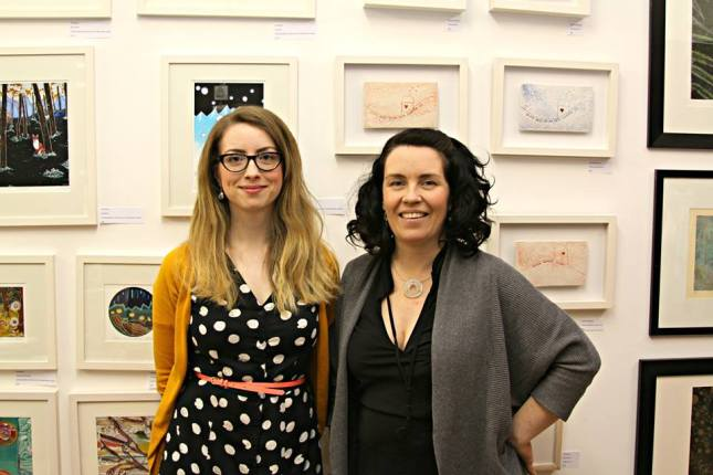 Orla Barry and Sarah McKenna of Silver Linings