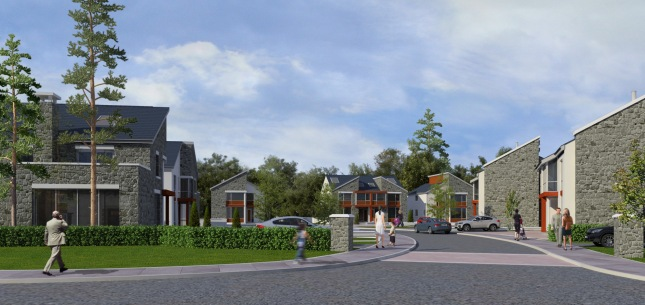 The 4 bed detached homes in the Towers