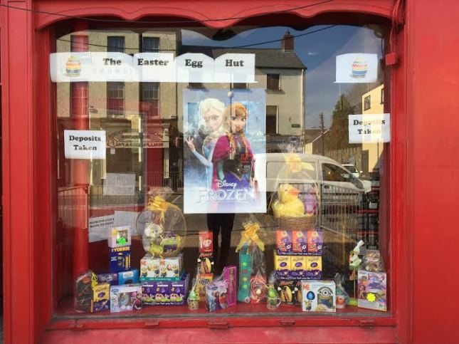The Easter Egg Hut in Clanbrassil Street