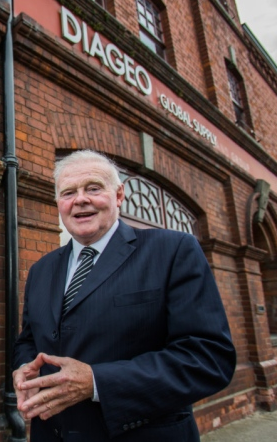John Teeling at the Great Northern Distillery in Dundalk