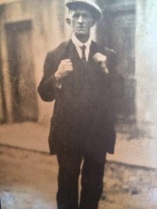 Local man Marcus Howard, whose great, great granduncle Arthur Greene went to Tyrellstown in 1916 from Dundalk, was the first relative tracked down.