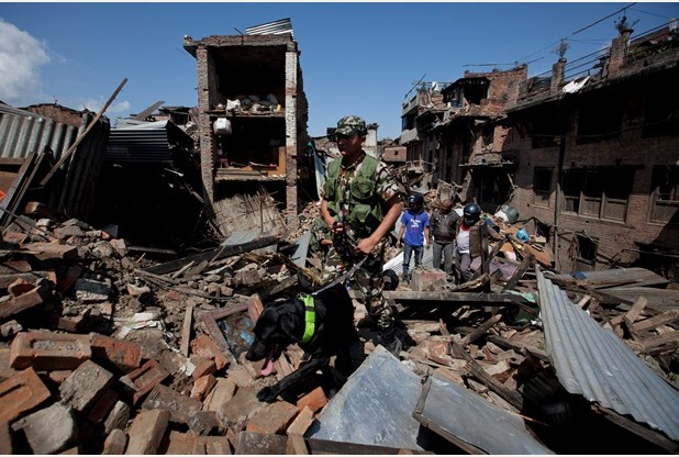 Thousands have died and homes destroyed following Saturday's earthquake in Nepal