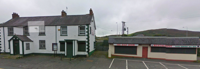 The old Garda Barracks and Half Door Restaurant