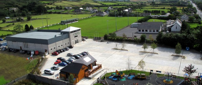 St Patrick's GFC's centre at Pairc Eamon in Lordship - one of the clubs facing a rates bill totaling €12,500