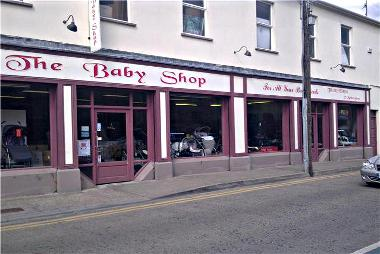 The former Baby Shop in Market Street