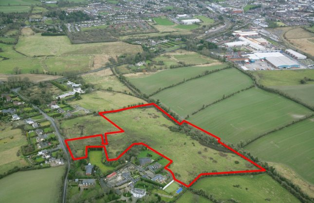 The land for sale at Ballybarrack