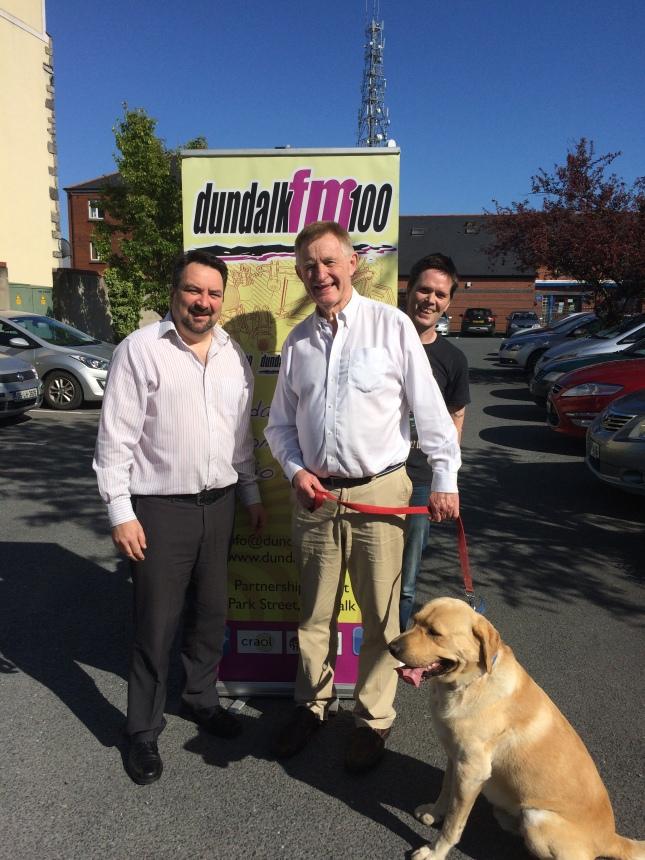 Dundalk FM helped reunite Spock with his owner Stephen Burns