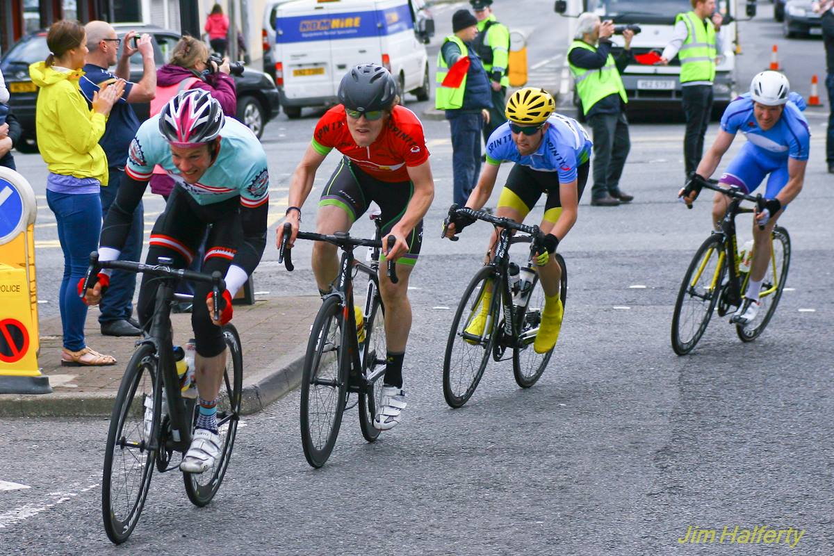 Liam Dolan competing in the Tour of the Mournes on Sunday