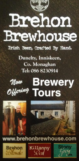 brehon brewhouse tour
