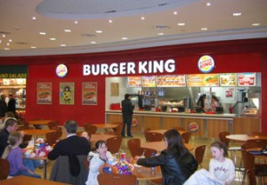 Burger King in the Marshes Shopping Centre