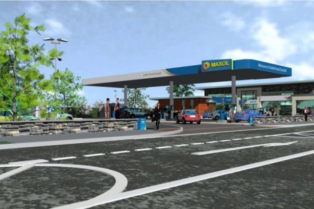 An artist's impression of the new Maxol on the Dublin Road